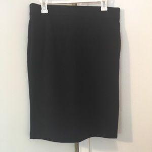 Candie's Black Pencil Skirt Jr's Size 9